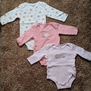 Long sleeve 3-piece onesie